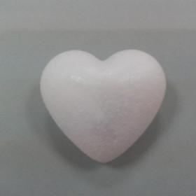 Styropor-Herz 9cm weiß