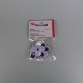 Wackelaugen 14mm rund 10 Stück
