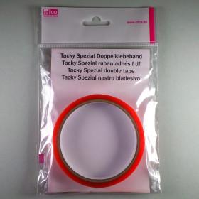 Tacky Spezial Doppelklebeband 12 mm 5 m klar transparent