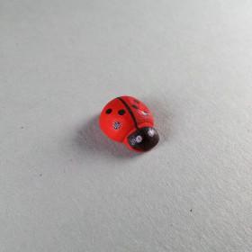 Marienkäfer 13x10 mm 1 Stück