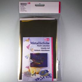 Metallic-Folie gold 20 x 30 cm 1 Stk.