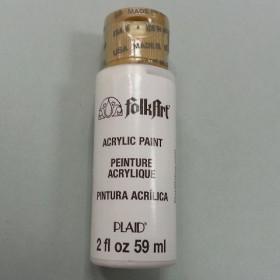 Acrylfarbe FolkArt Titanium White 59ml