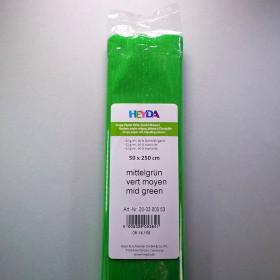 Krepp-Papier hellgrün Rolle 50 x 250 cm
