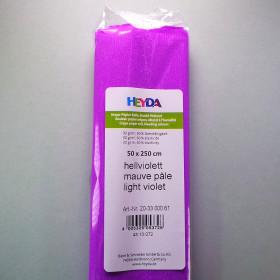 Krepp-Papier hellviolett Rolle 50 x 250 cm