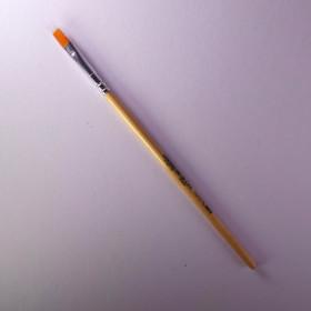 Schulpinsel Größe 6 flach (6,6mm)