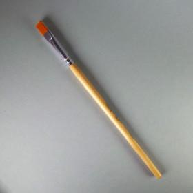 Schulpinsel Größe 8 flach (9mm)