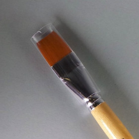 Schulpinsel Größe 16 flach (17,8mm)