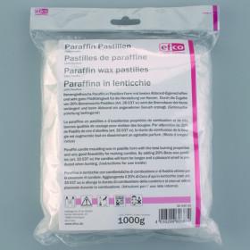 Paraffin-Kerzenwachs 1kg weiß