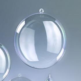 Kunststoff-Medaillon 9cm klar