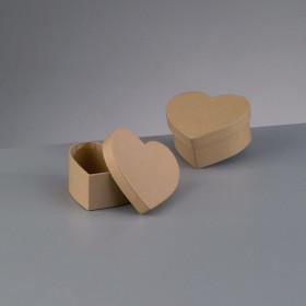 Papp-Box mini Herz 9x9x4 cm