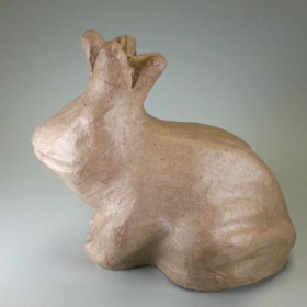 PappArt Figur Spardose Froschkönig 16 x 11,5 x 14,5 cm