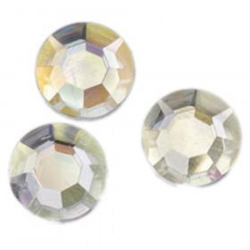 Strass-Schmucksteine 12 mm 75 Stk. kristall AB