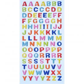 SOFTY-Sticker Großbuchstaben bunt
