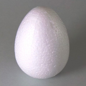 Styropor-Ei 4,5cm weiß
