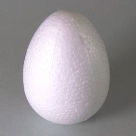 Styropor-Ei 12cm weiß