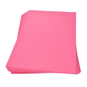 Moosgummiplatte pink