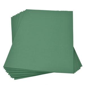 Moosgummiplatte grün