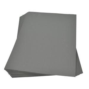 Moosgummiplatte grau