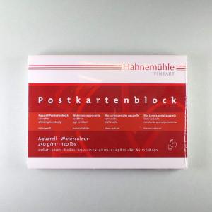 Aquarell-Postkartenblock Burgund 10,5 x 14,8cm 250 g/m² 20 Blatt- rau