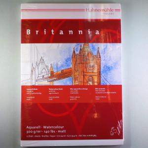 "Aquarellblock ""Britannia"" matt 17x24cm, 12Blatt"