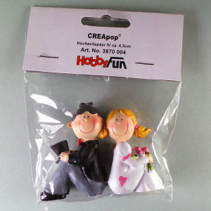 CREApop® Hochzeitspaar-Figur IV ca. 6,5 cm