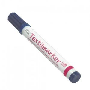 Textilstift dunkelblau für Stoff