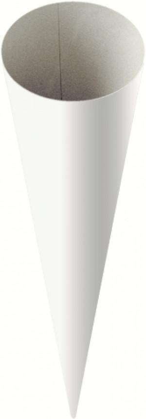 Schultüte Rohling 70cm weiß