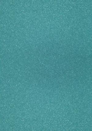 Glitterkarton A4 türkis