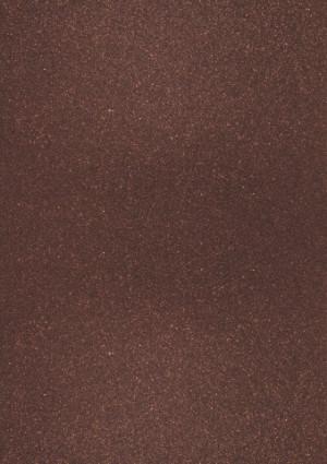 Glitterkarton A4 mocca