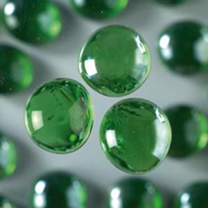 Glasnuggets grün
