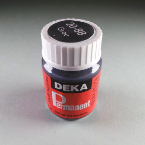Stoffmalfarbe Grau Deka-Permanent 25ml