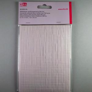 Klebekissen weiß 5x5x3mm