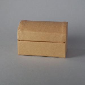 Papp-Schatztruhe 6x4x4cm mini