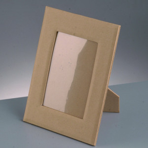 Papp-Fotorahmen mit Ausschnitt 20 x 14,5 cm