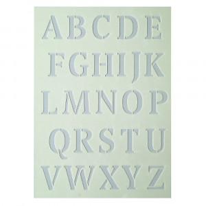 Schablone Groß-Buchstaben
